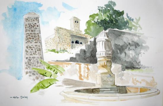 fontaine, (vendue)