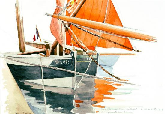 voiles rouge